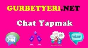 Chat Yapmak